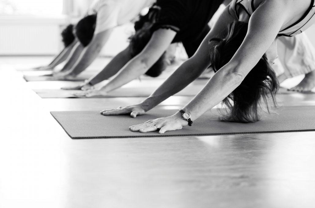 Down dog group yoga